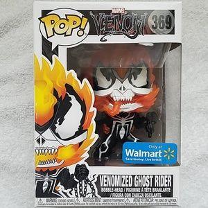 "Funko POP! Walmart Excl "" VENOMIZED GHOST RIDER"""